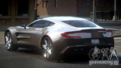 Aston Martin BS One-77 для GTA 4