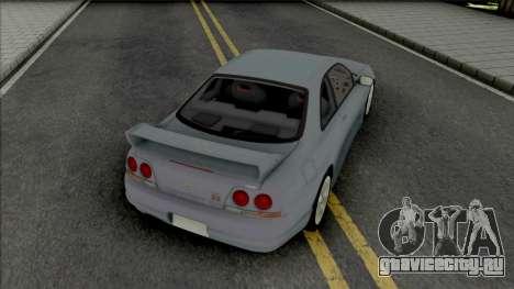 Nissan Skyline GT-R R33 [IVF] для GTA San Andreas
