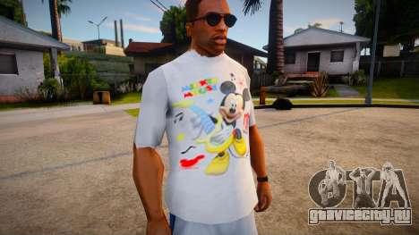 New T-Shirt - tshirtlocgrey для GTA San Andreas