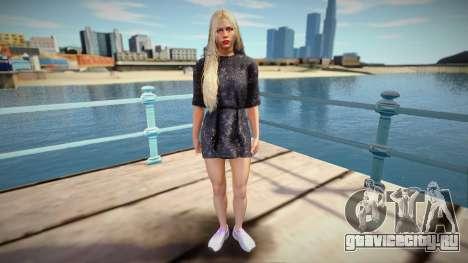 Giselle Miller v3 для GTA San Andreas