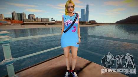 DOA Helena Douglas Fashion Casual V3 Miami Heat для GTA San Andreas