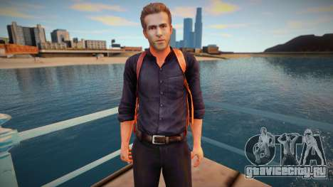 R.I.P.D The Game Nick Walker Skin для GTA San Andreas