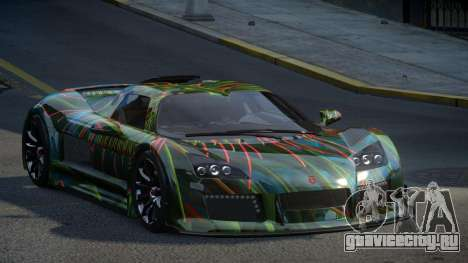 Gumpert Apollo U-Style S6 для GTA 4
