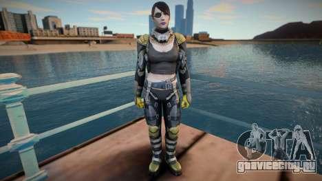 Widow From Shadowgun: Deadzone для GTA San Andreas