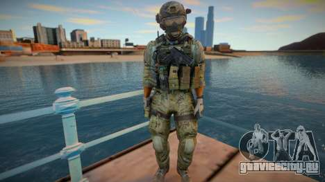 Frost из игры CoD MW3 для GTA San Andreas