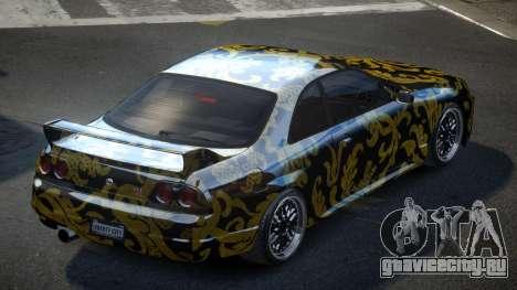 Nissan Skyline R33 US S3 для GTA 4