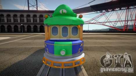 Mario Kart 8 Tram L для GTA San Andreas