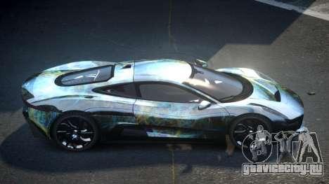 Jaguar C-X75 SP-U S3 для GTA 4
