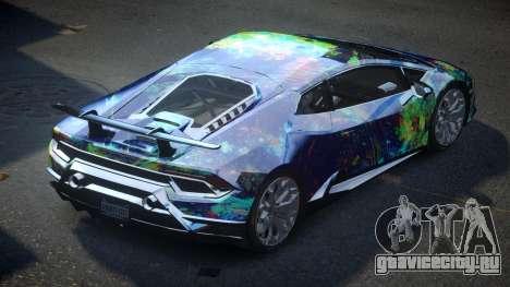 Lamborghini Huracan BS-Z S4 для GTA 4