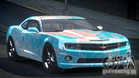 Chevrolet Camaro BS-U S4 для GTA 4