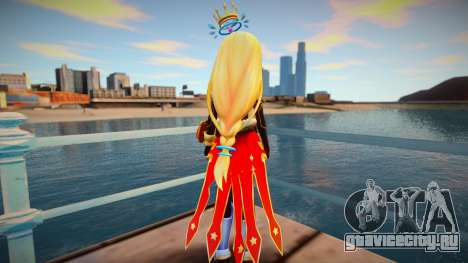 Megadimension Neptunia Collab - Million Arthur для GTA San Andreas