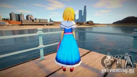 Alice Margatroid для GTA San Andreas