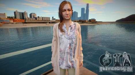 Mia Winters (from Resident Evil Village) для GTA San Andreas