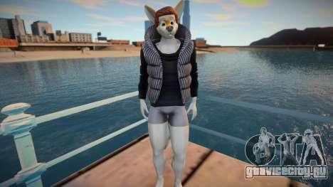 Furry Skin Sims4 для GTA San Andreas