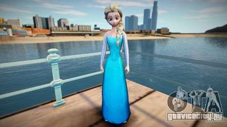 Elsa Frozen для GTA San Andreas