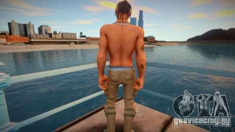 Travis Scott skin для GTA San Andreas