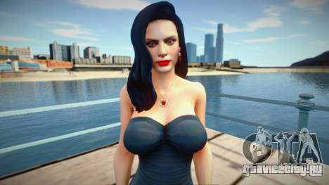 Excella (Seductive Dress) from Resident Evil 5 для GTA San Andreas