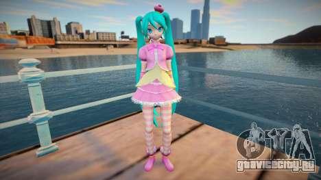 PDFT Hatsune Miku Princess для GTA San Andreas