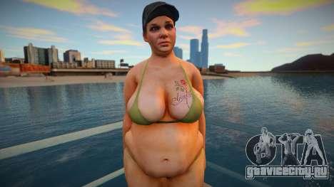 New CJ Girlfriends 2021 - Michelle для GTA San Andreas