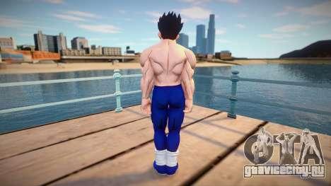 Gohan no shirt from Dragon Ball Xenoverse 2 для GTA San Andreas