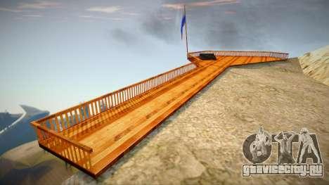 Выступ (новая текстура) для GTA San Andreas