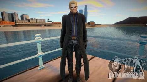Albert Wesker From Marvel Vs Capcom 3 для GTA San Andreas