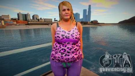 New CJ Girlfriends 2021 - Denise для GTA San Andreas