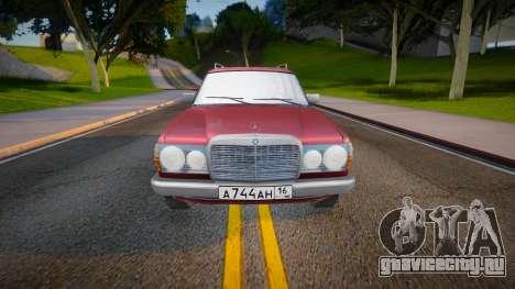 Mercedes-Benz W123 2.0 AT 230T для GTA San Andreas