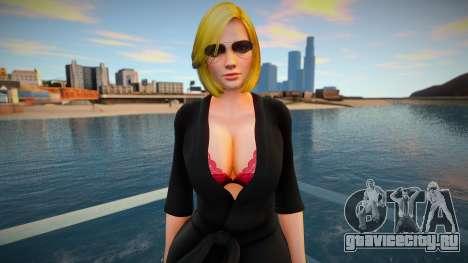 DOA Tina Armstrong Fashion Casual V4 Slumber Par для GTA San Andreas