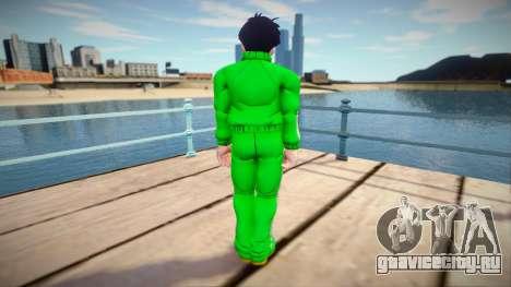 Gohan sportswear from Dragon Ball Xenoverse 2 для GTA San Andreas