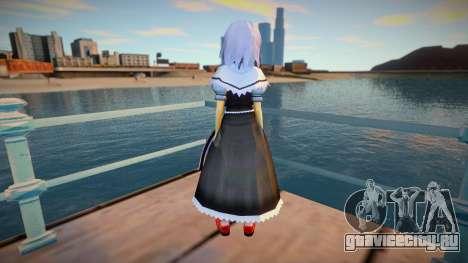 Alice Margatroid v3 для GTA San Andreas