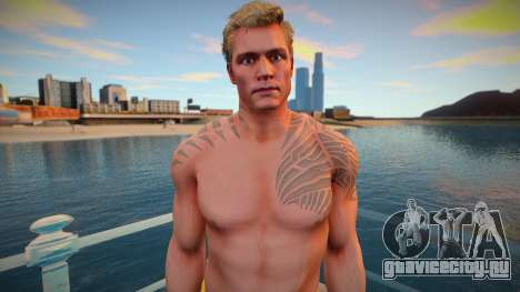 Aquaman from Injustice 2 skin для GTA San Andreas