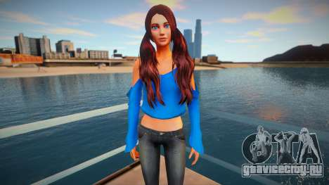 Female Sims 4 для GTA San Andreas