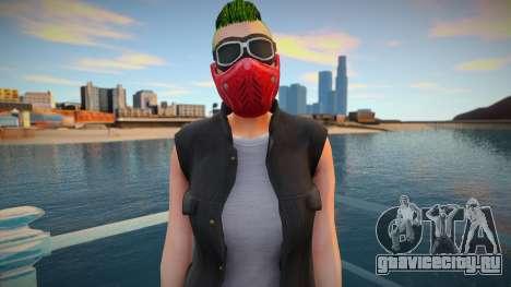 Biker girl 2 from GTA Online DLC: Bikers для GTA San Andreas