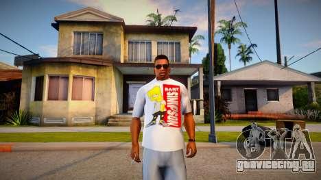 New T-Shirt - tshirtwhite для GTA San Andreas