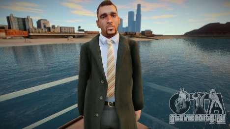 Американец в пальто 2 для GTA San Andreas