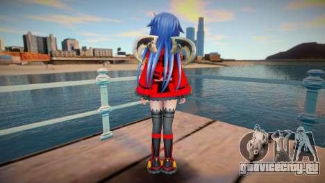 Megadimension Neptunia Collab - Nitroplus v3 для GTA San Andreas
