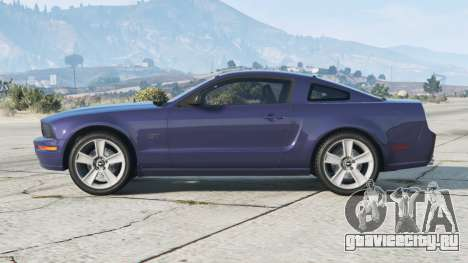 Ford Mustang GT 2005〡grey rims〡add-on