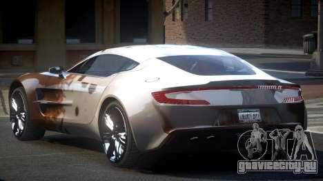 Aston Martin BS One-77 S2 для GTA 4