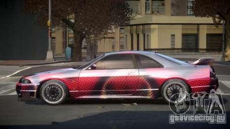 Nissan Skyline R33 US S8 для GTA 4