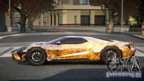 Ford GT GST S2 для GTA 4