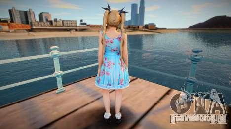 DoA5:LR Marie Rose - Blue Lolita для GTA San Andreas