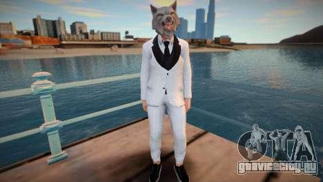 Guy 45 from GTA Online для GTA San Andreas