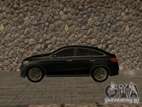Mercedes-Benz GLE 63 AMG RUS Plates для GTA San Andreas