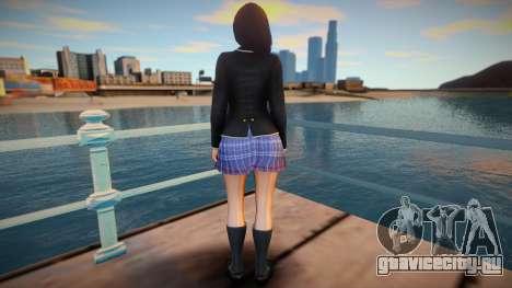 Momiji School Outfit для GTA San Andreas