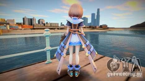 Neptunia Virtual Stars Kin v1 для GTA San Andreas
