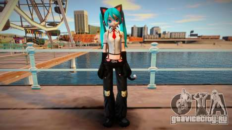 PDFT Hatsune Miku Kitty Cat для GTA San Andreas