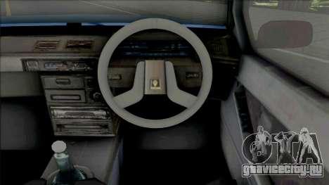 Proton Saga Iswara 2nd Gen для GTA San Andreas