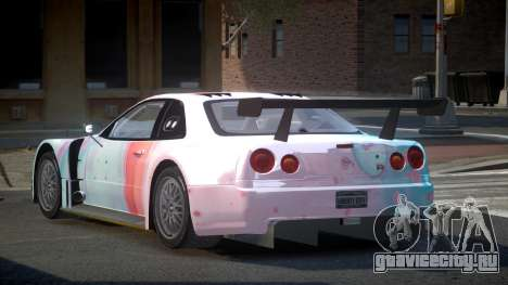 Nissan Skyline R34 US S7 для GTA 4