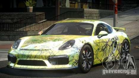 Porsche 718 Cayman GT4 S10 для GTA 4